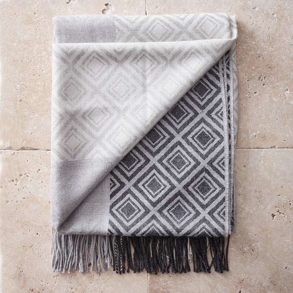 Patterned Alpaca Throw - Spirit of the Andes
