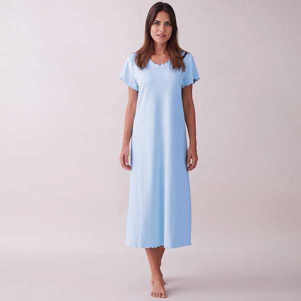 Rafaela Pima Cotton Nightdress - Spirit of the Andes