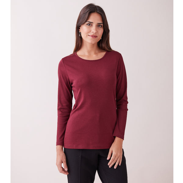 Rosella Semi-Fitted Pima Cotton Top - Spirit of the Andes