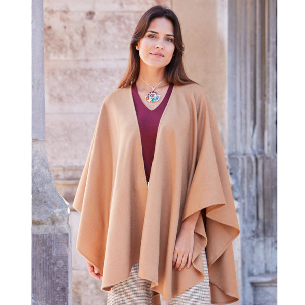 Bella Ruana Alpaca Cape - Spirit of the Andes