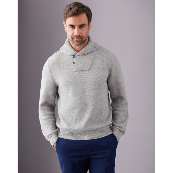 Salvador Buttoned Collar Sweater - Spirit of the Andes