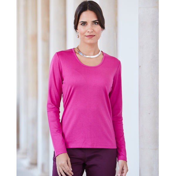 Susana Semi-Fitted Pima Cotton Top - Spirit of the Andes