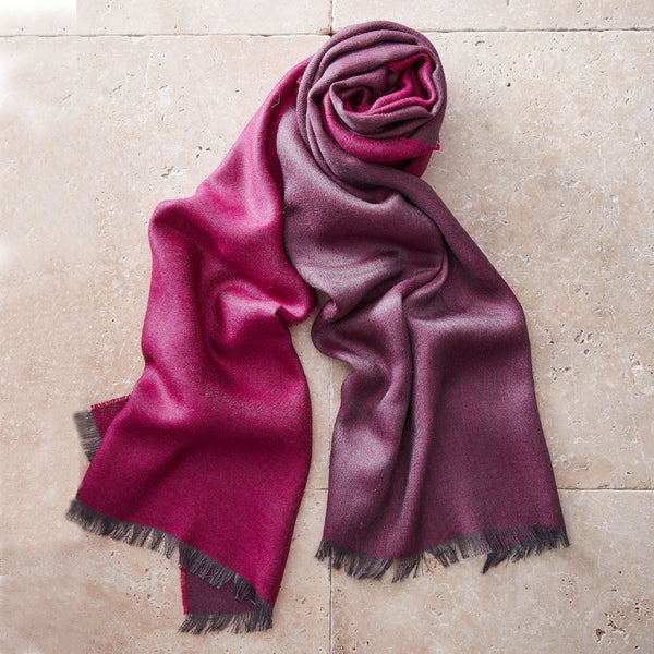 Two-Tone Pashmina Stole - Spirit of the Andes