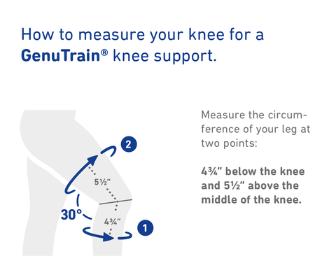 How to measure for knee brace