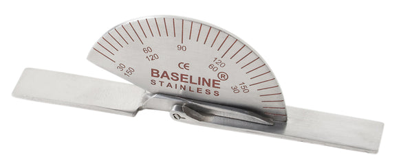 Baseline® Finger Goniometer - Metal - Small - 3.5 inch