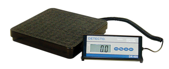 Detecto® Floor Scale - DR400C Digital 400 lb / 175 kg - with Remote Indicator