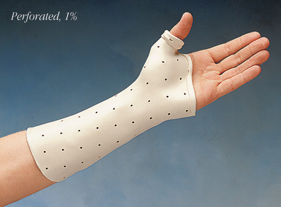 Preferred, Perforated  Thermoplastic Splinting Material   3/32 in. x 18 in. x 24 in. (4)