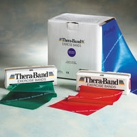 Theraband Latex Exercise Band 50YD Roll-8 Resistance Levels