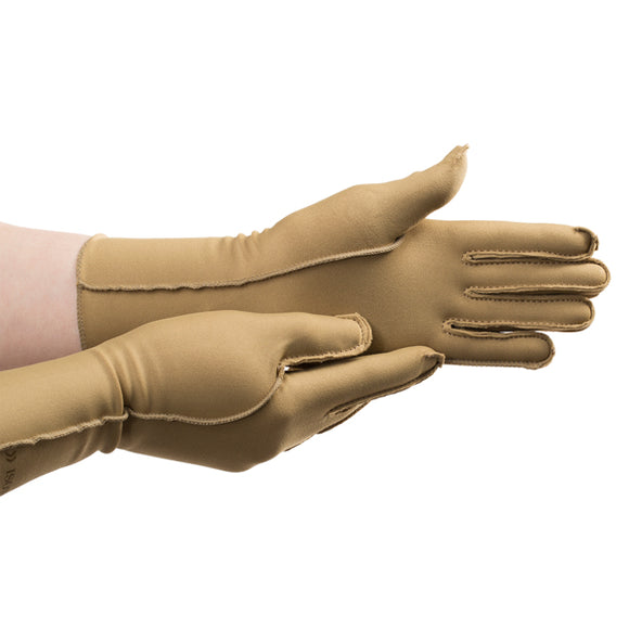 Isotoner Therapeutic Gloves Open Finger-4 Sizes
