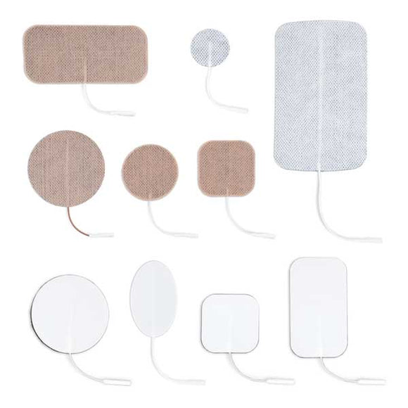Norco  Multi-Use Electrodes, Cloth   2 in. x 4 in., Rectangle (4 count)