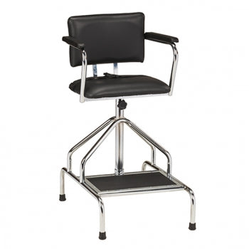 Adjustable Height Whirlpool Chair without Casters