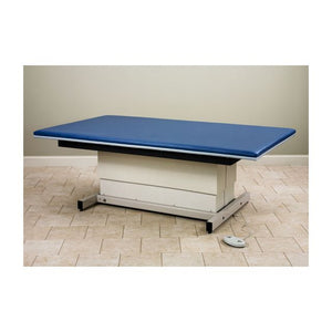 Clinton Industries 252 Series Hi-Low Power Mat Platform, Removable Velcro Mat, Peddle Control, 600 lb Capacity