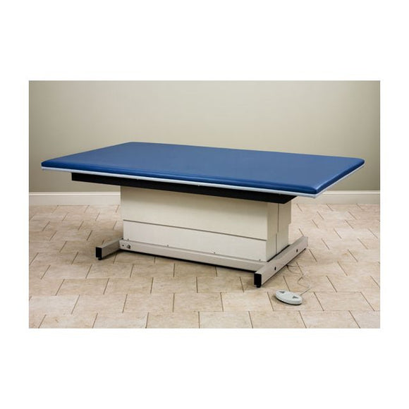 Clinton Industries 253-68 Hi-Low Upholstered Power Mat Platform, 6 ft x 8 ft, Foot Peddle Control, 600 lb Capacity