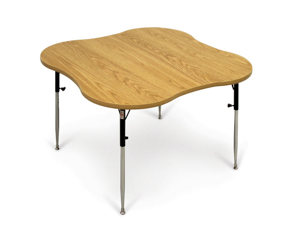 4-Cutout Table