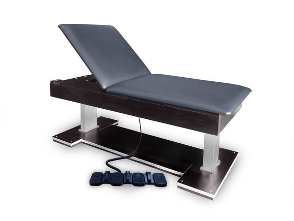 Hausmann Econo Bariatric Hi-Lo Treatment Table with Power Backrest