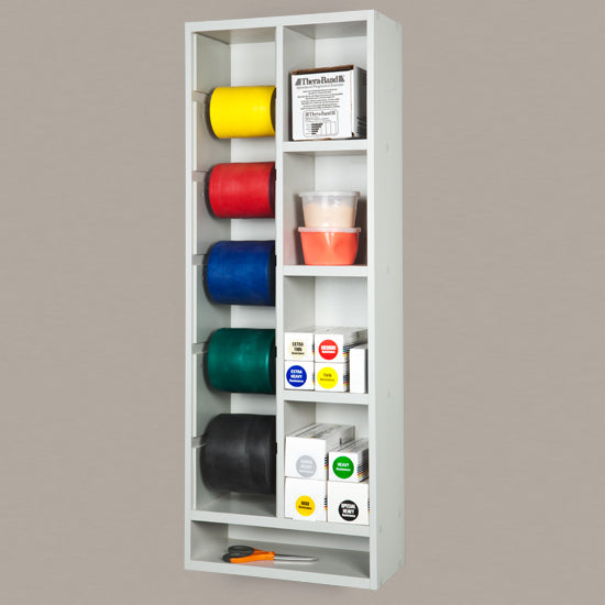 CLINTON PHYSICAL THERAPY BAND STORAGE RACK 31