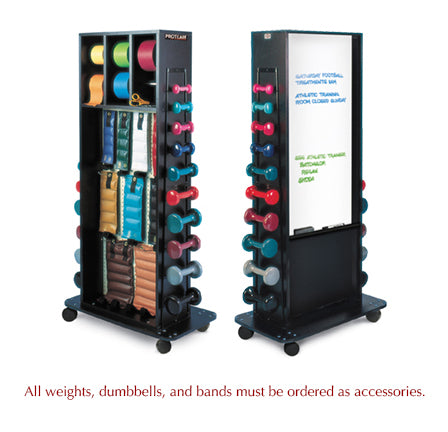 Hausmann 5558 Combination Rack w/ Whiteboard