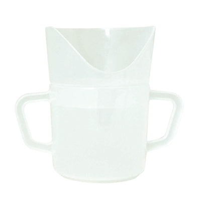 Nosey 2-handled cup, 8 oz.