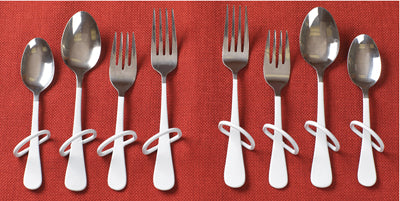 Finger Loop Utensil - Teaspoon - left hand