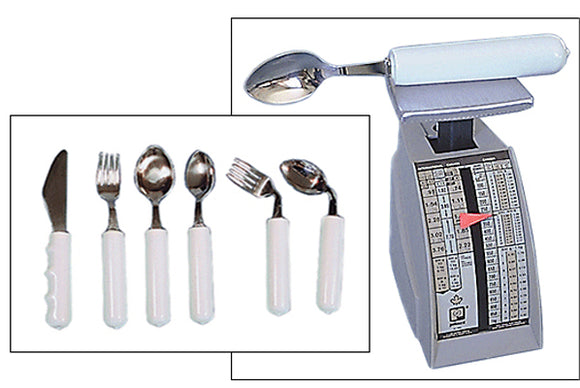 Weighted cutlery, 8 oz. Right teaspoon