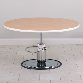 Round Top Hydraulic Table
