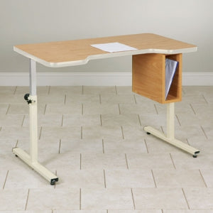 7433 Personal Work Table with Small Cut-Out & Tilt-Top