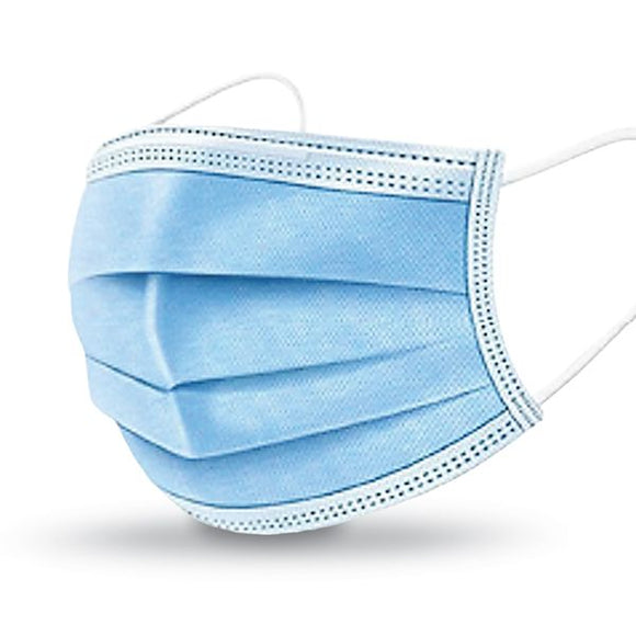 Disposable 3 Ply Face Mask Bx/50