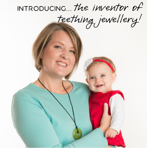 The Story of Mama + Belle® and Who Actually Invented Teething Jewellery…