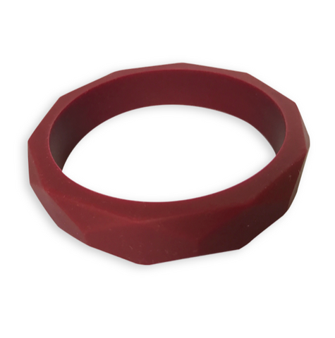 Amelia Ruby Port Teething Bangle Teething Bangle- Mama + Belle