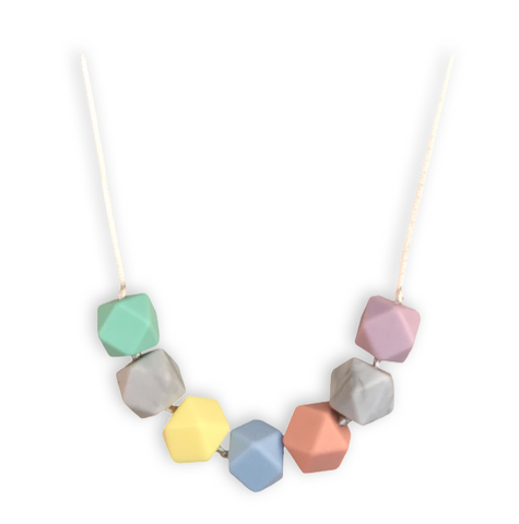 Isla Blossom Teething Necklace Teething Necklace- Mama + Belle