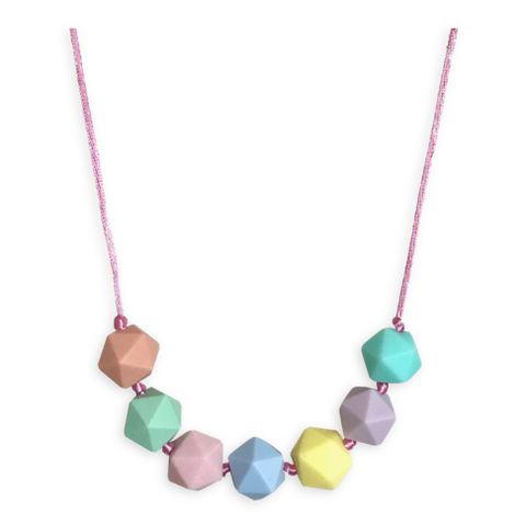 Kids Poppy Blossom Necklace Kids Necklace- Mama + Belle