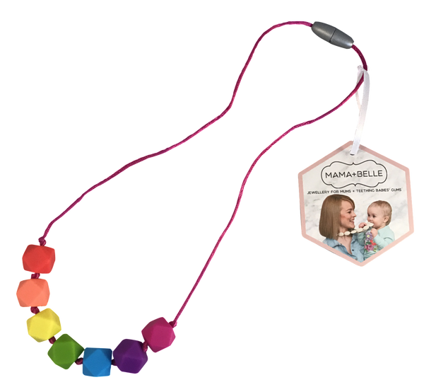 Kids Rosie Rainbow Necklace Kids Necklace- Mama + Belle