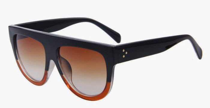 Classic Oversized Sunglasses (Classic Black/Brown)