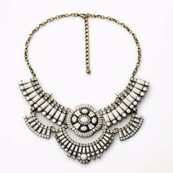 The Perfect Sweatshirt Statement Necklace