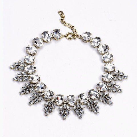 Vintage Leaves Statement Necklace
