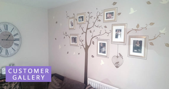 Wall Sticker Customer Gallery
