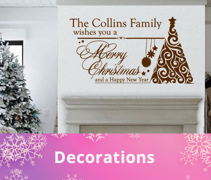 Shop All Christmas Wall Stickers