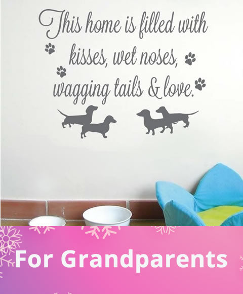 Grandparent's Wall Stickers