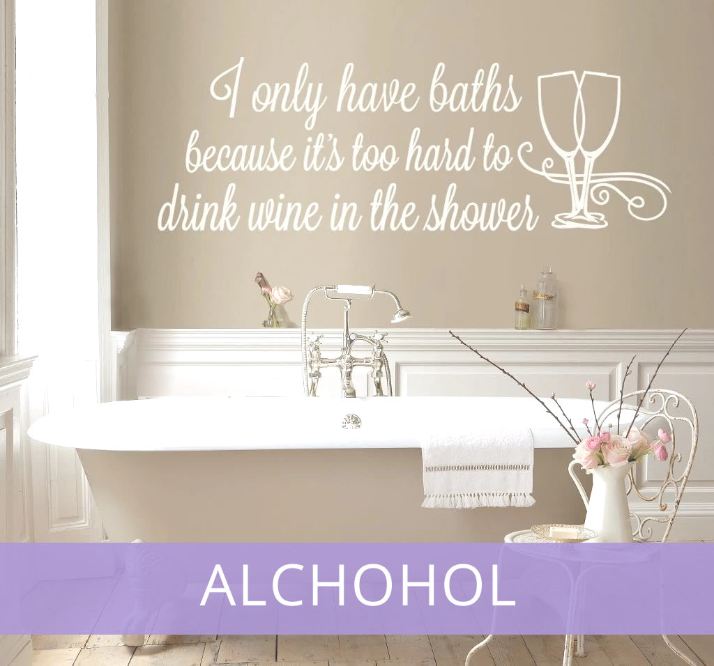 Funny and Alcohol Wall Stickers