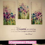 Disney - Dreams Come True Wall Sticker Wall Sticker - Wall Chick