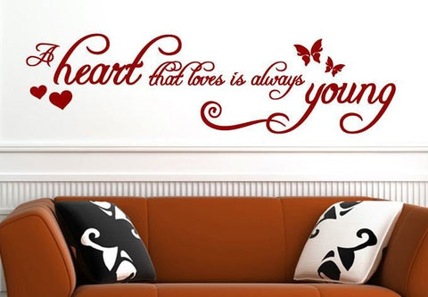 A Heart that Loves Wall Sticker - Wall Chick