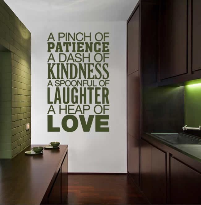 A Pinch of Patience Wall Sticker Wall Sticker - Wall Chick