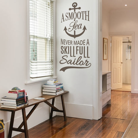 A Smooth Sea Wall Sticker Wall Sticker - Wall Chick