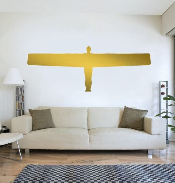 Angel of the north wall sticker wall chick