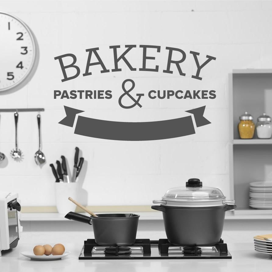 Bakery Wall Sticker Wall Sticker - Wall Chick