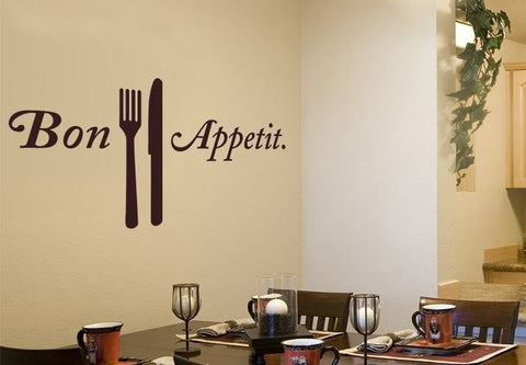 Bon Appetit Wall Sticker Wall Sticker - Wall Chick