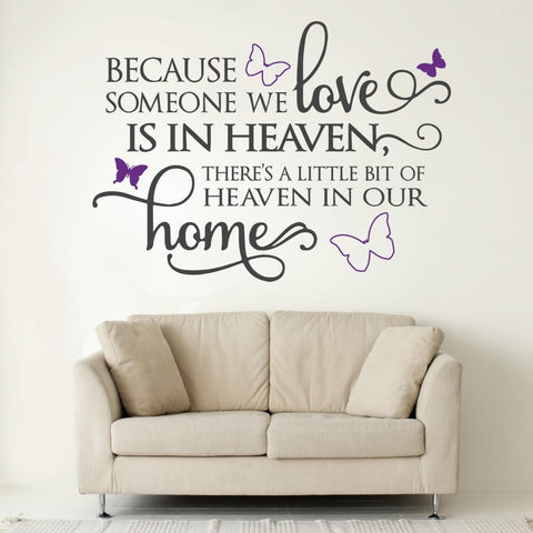 Butterfly Heaven Wall Sticker Wall Sticker - Wall Chick