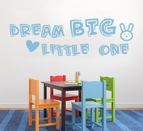 Dream Big Little One Wall Sticker - Wall Chick