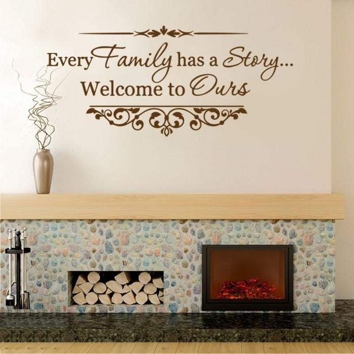 Every Family Has A Story Wall Sticker - Wall Chick