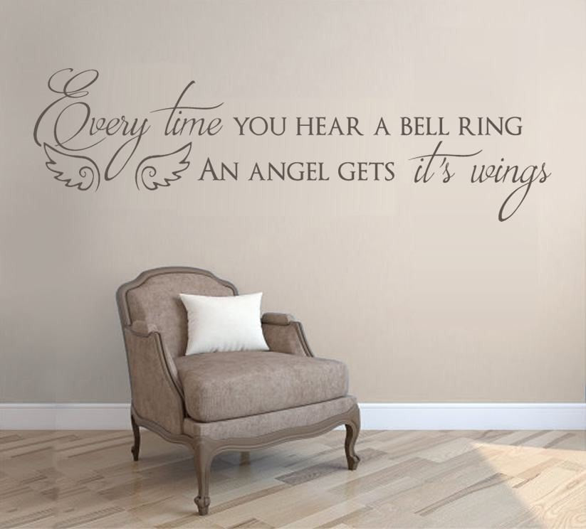 Every Time you Hear a Bell Ring Wall Sticker Wall Sticker - Wall Chick